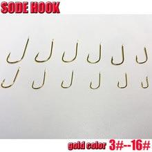 2019HOT SODE HOOK, GOLD COLOR hooks  size 3#--16# quantity:500pcs/lot