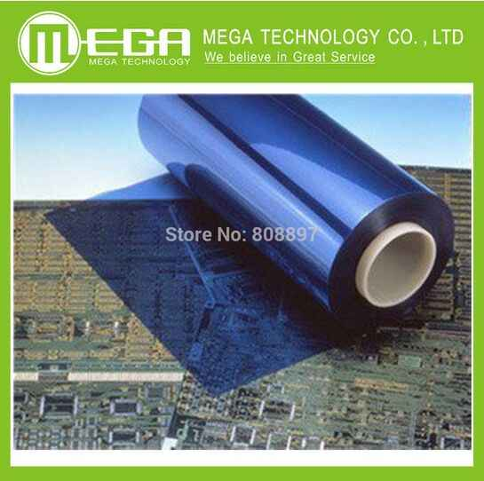 Photosensitive dry film instead of thermal transfer production PCB board photosensitive film 1 meters long 30 cm wide