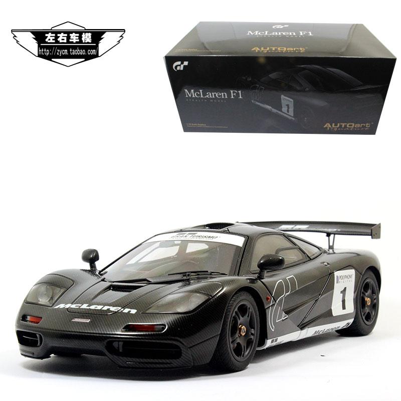 marke neue 1/18 skala yj auto modell toys mclaren f1 gt5 1 # racing