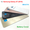 A+ Quality Replacement Back Glass for Samsung Galaxy A7 2016 SM-A710 A710 Rear Battery Cover Door Back Housing with Adhesive