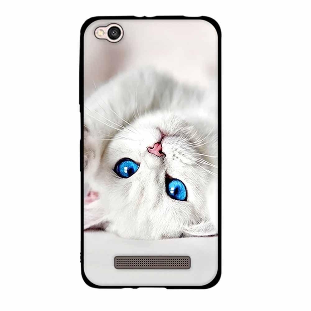 cheap for discount f28e0 0f034 3D Pattern Cases For Xiaomi Redmi 4A Case TPU Soft Silicone Cover For Redmi  4a Back Cover Case For Xiaomi Redmi4A Redmi4a Coque