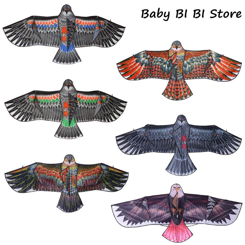 1.5m 1.7m Eagle Kite Outdoor Toy Sport Gift For Kids Children Adult Home Decor