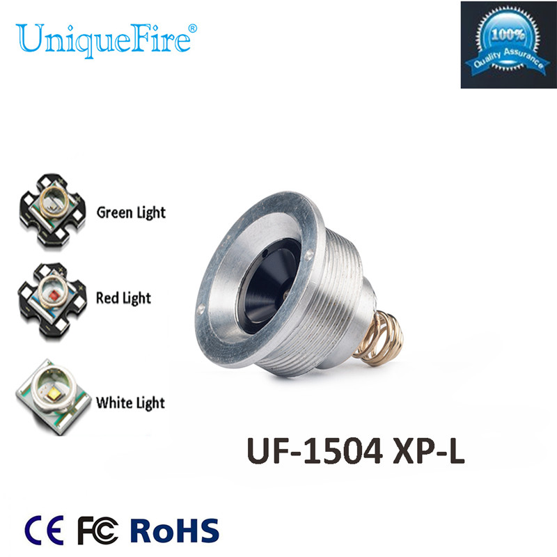 UniqueFire  XP-L (G/R/W) Light LED 3 Modes Drop in Pill Led Lamp Holder With UF-1504 FlashlightUniqueFire  XP-L (G/R/W) Light LED 3 Modes Drop in Pill Led Lamp Holder With UF-1504 Flashlight
