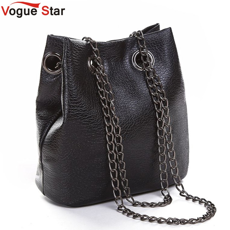 Vogue Star 2017 spring and summer fashion chain bucket shoulder bag messenger bag mini crossbody bags for women's handbag LA12