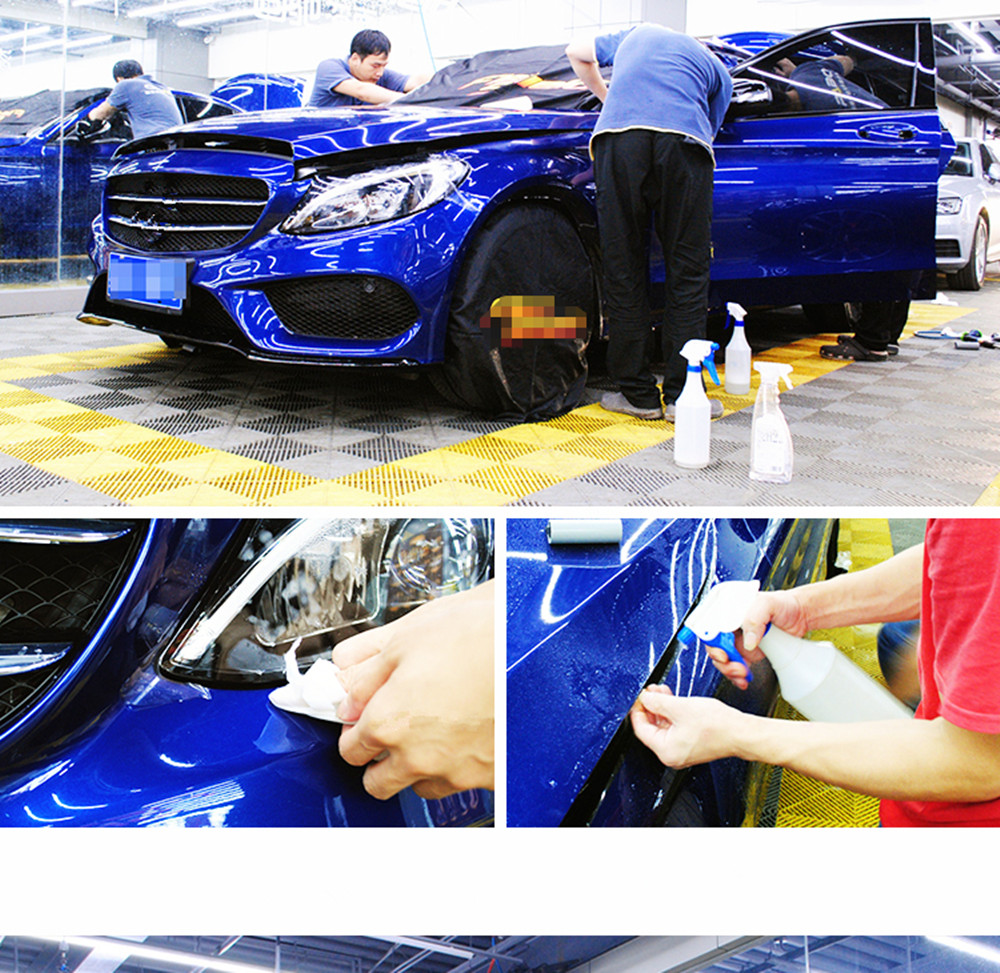 Sunice 3 couches PPF clair voiture Protection vinyle Wrap voiture peinture Protection Film pour voiture moto ordinateur portable skateboard enveloppes 1.52*2 m
