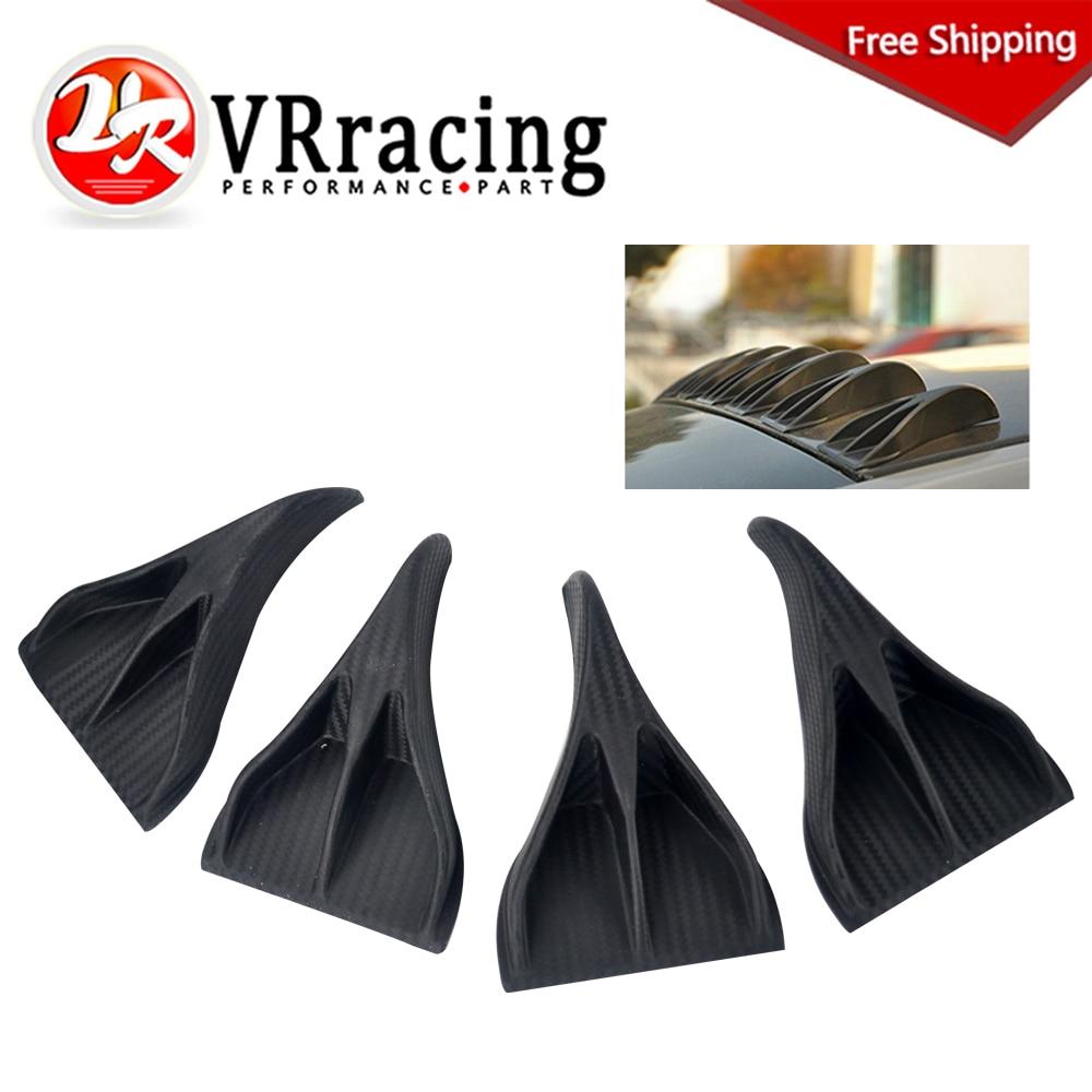 Vr Racing Free Shipping 10pcs Car Suv Universal Carbon
