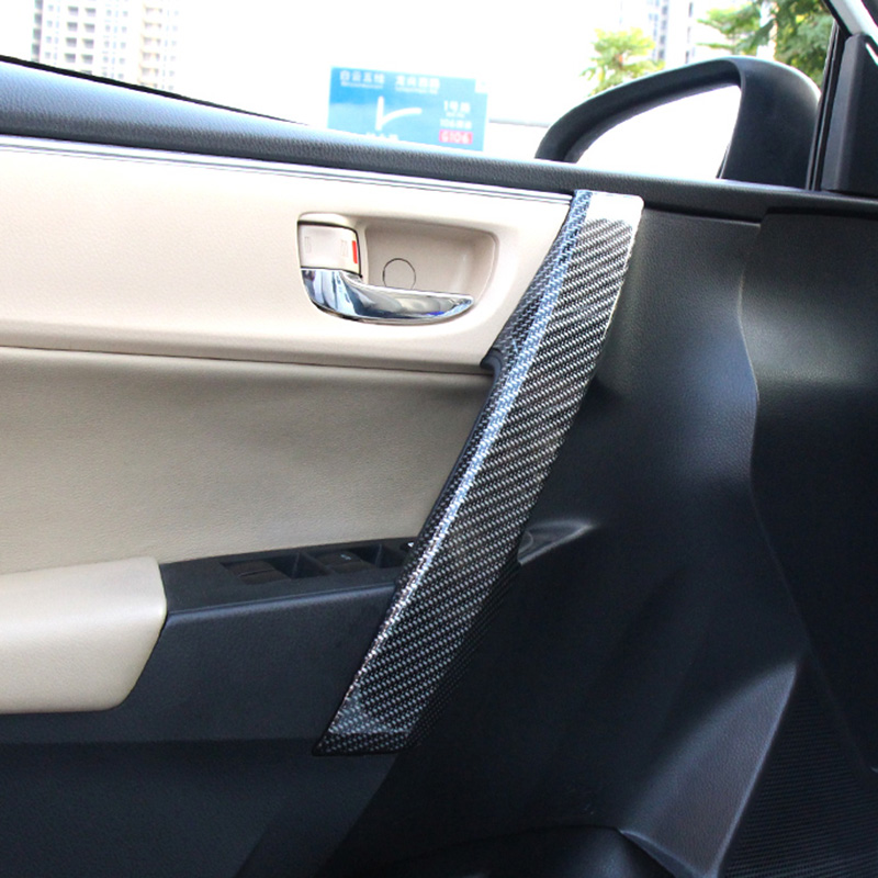 Fit For Corolla Levin 2014 2015 2016 Car ABS Chrome Interior Door Handle  Cover Protector Sticker Trim Decoration In Interior Mouldings From  Automobiles ...