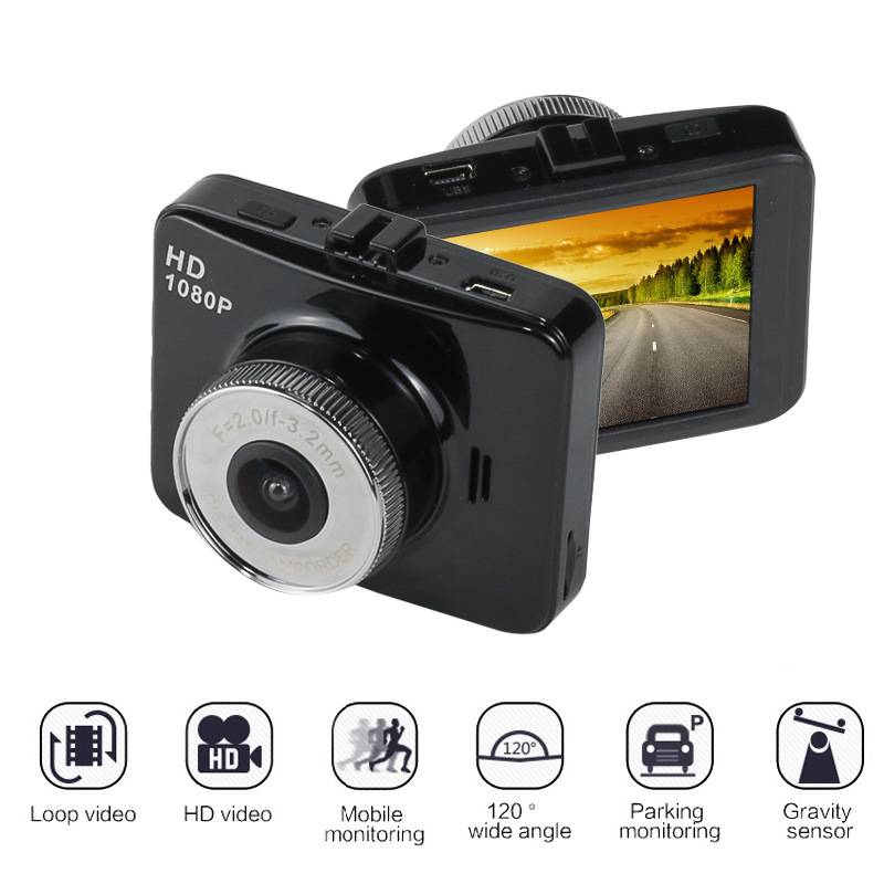 HD1080P Resolution Dash Cam Original Fall 1920X1080P Car Video Recorder Car DVR camera with Novatek WDR Technology Car Camera ...