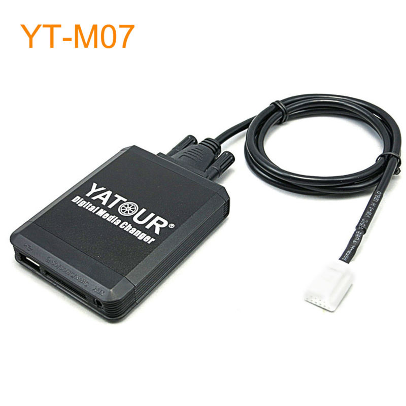 Car MP3 USB SD CD Changer for iPod AUX with Optional Bluetooth for Toyota 4Runner Avalon Avensis Auris Camry Celica Corolla D4D car usb sd aux adapter digital music changer mp3 converter for skoda octavia 2007 2011 fits select oem radios