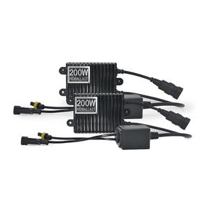 Image 2 - TPTOB 2 قطعة 200 واط الصابورة عدة HID زينون ضوء لمبة 12 فولت H1 H3 H7 H11 9005 9006 4300k 5000k 6000k 8000k k