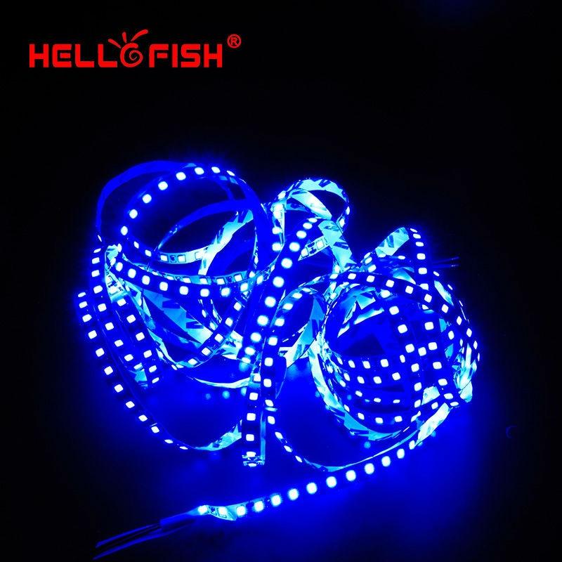 5m 2835 LED Strip Single Layer PCB 600 Ljus 2835 SMD 12V Flexibel LED - LED-belysning - Foto 5