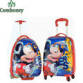 Minnie Mouse Kids Travel Trolley Bag ABS Cartoon Hardside Children's Suitcases on Wheels Girls Boys Travel Luggage on Wheels