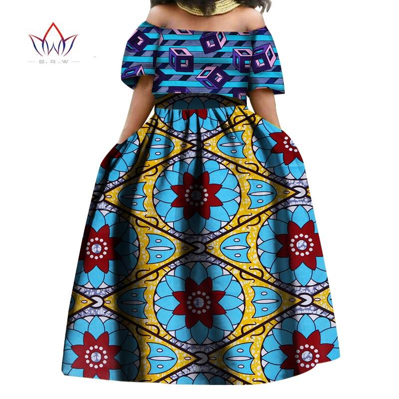skirt musim panas set african pakaian tradisional bazin skirt - Pakaian kebangsaan - Foto 2