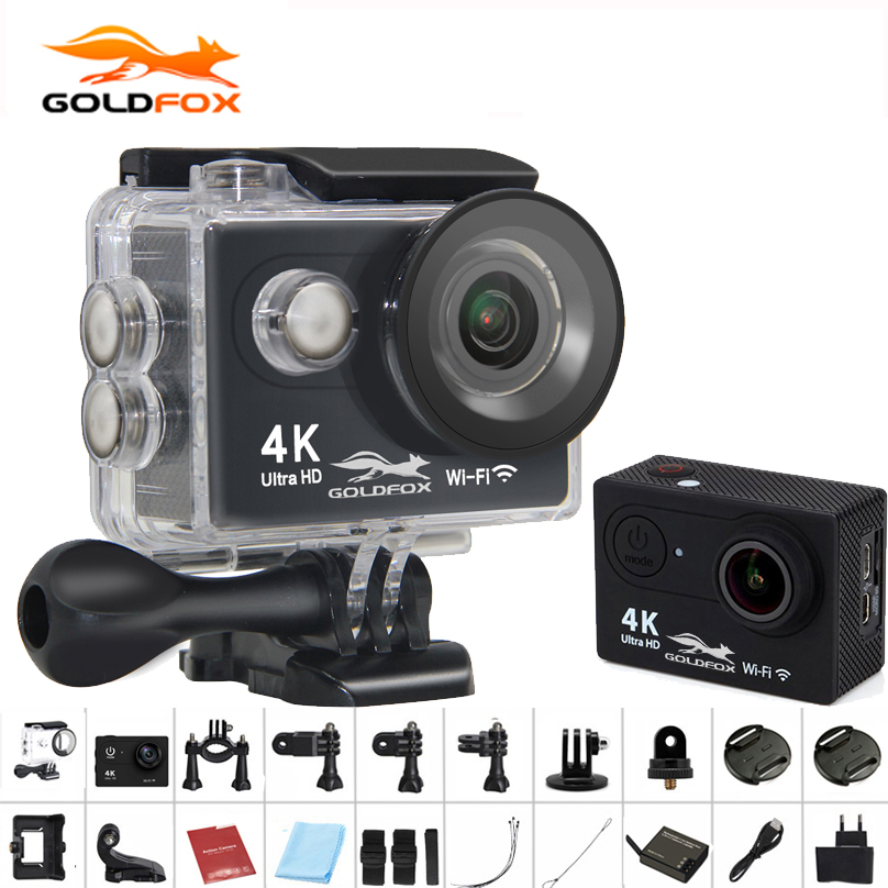Action Camera H9/H9R Ultra HD 4K WiFi 1080P/60fps 2.0LCD 170 lens 30M Go Waterproof Pro Sport DV Mini Camara Camcorder deportiva 2017 arrival original eken action camera h9 h9r 4k sport camera with remote hd wifi 1080p 30fps go waterproof pro actoin cam
