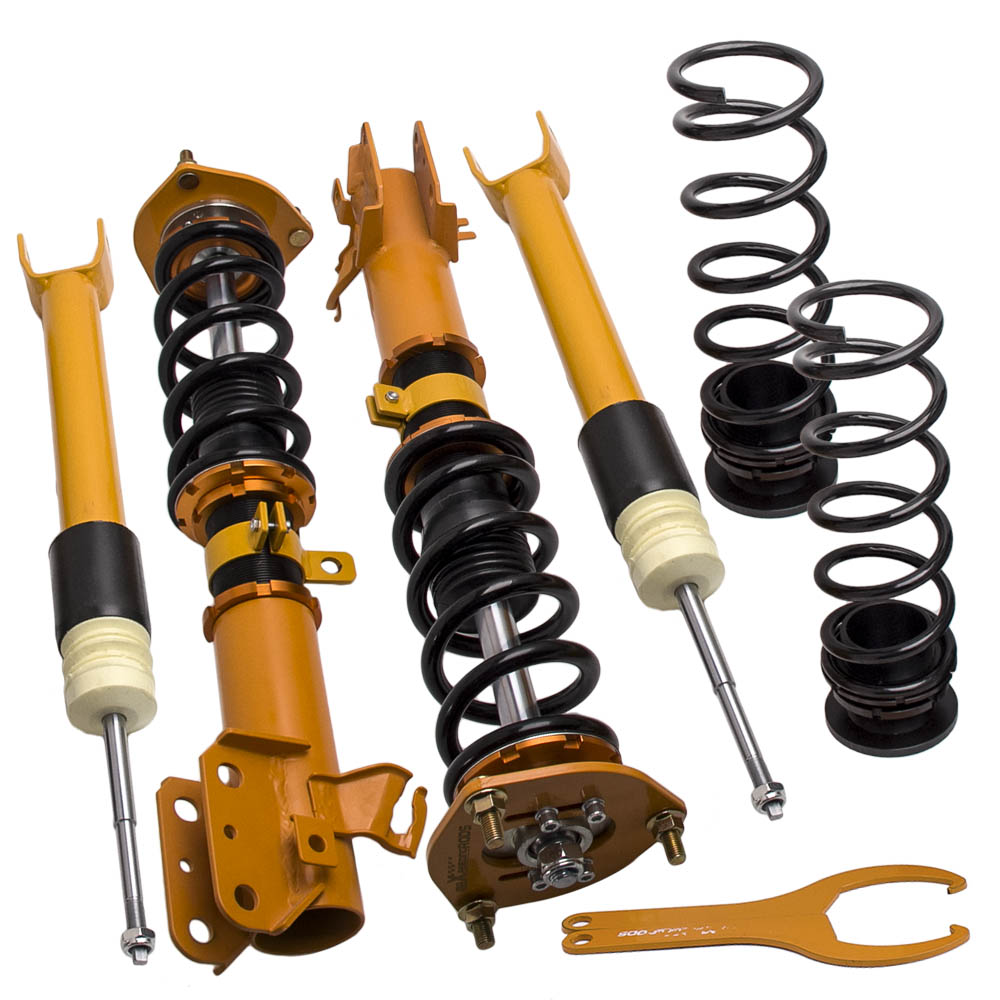 Height Adj Coilovers Suspension for Nissan Altima 2002-2006 Shock Absorber Struts Adj Height Coil Springs