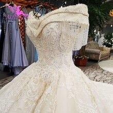 AIJINGYU تجاوز ثياب متواضعة 3 في 1 الدانتيل رومانسية الزفاف مع الأكمام Wedding2018 أبيض بسيط فستان الزفاف شراء