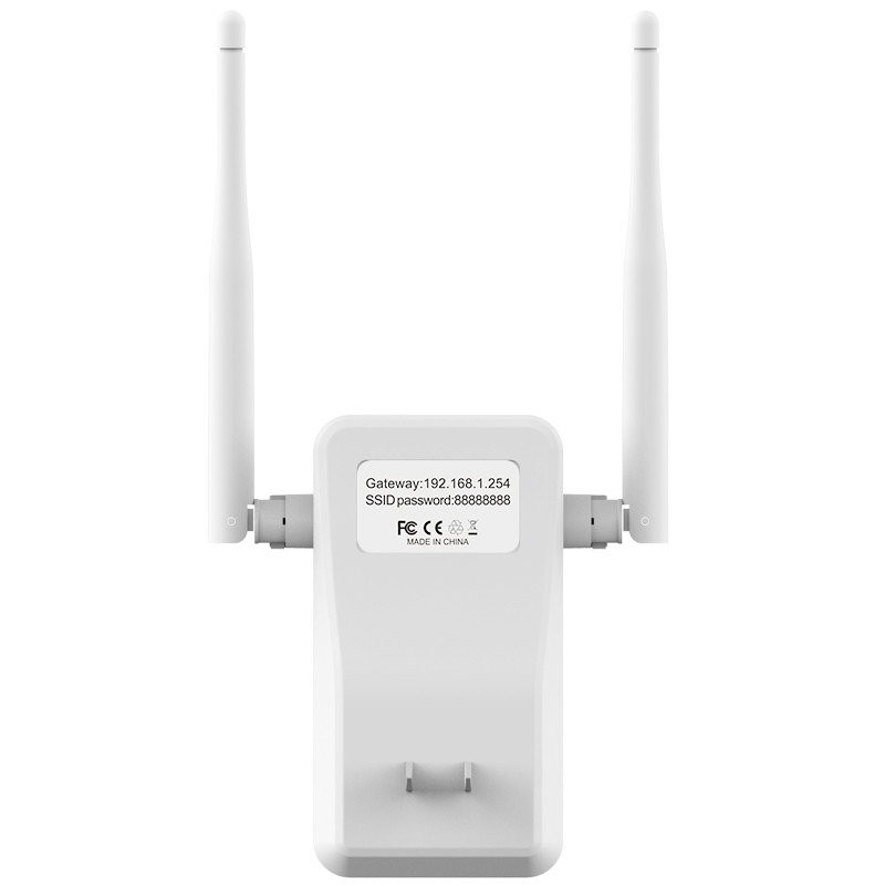 300M WIFI Repeater Signal Booster Wireless-N AP wi fi Repeater dual External Antenna 802.11N/B/G networking Range Expander
