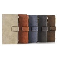 Wholesale 5pcs Lot High Quality Retro Style Business With Wallet 2 In 1 PU PC Design