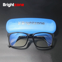Anti Blue Light Blocking Filter Reduces Digital Eye Strain Clear Regular Computer Gaming SleepingBetter Glasses