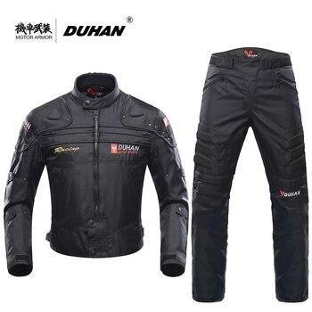 Blouson Hombres Duhan Moto Chaqueta Motocicleta Deportiva De W9EIH2YD