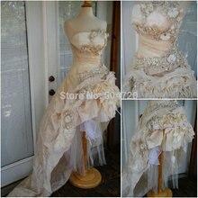 Freeshipping!R-438 Custom Made 1860S Civil War GothicDress/Victorian dresses/Renaissance dress Vintage Costumes