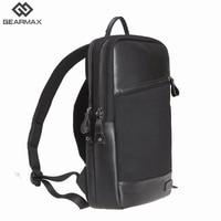 Gearmax Laptop Backpacks 15.6 inch Leather Waterproof Notebook Bag Anti theft School Travel Backpack For Macbook Air/Pro 13 15