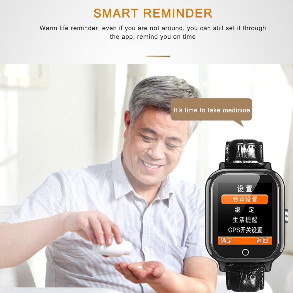 1.44 Senior DS19 Smart Watch SOS Call Heart Rate Blood Pressure Health Bracelet Phone Watch1.44 Senior DS19 Smart Watch SOS Call Heart Rate Blood Pressure Health Bracelet Phone Watch