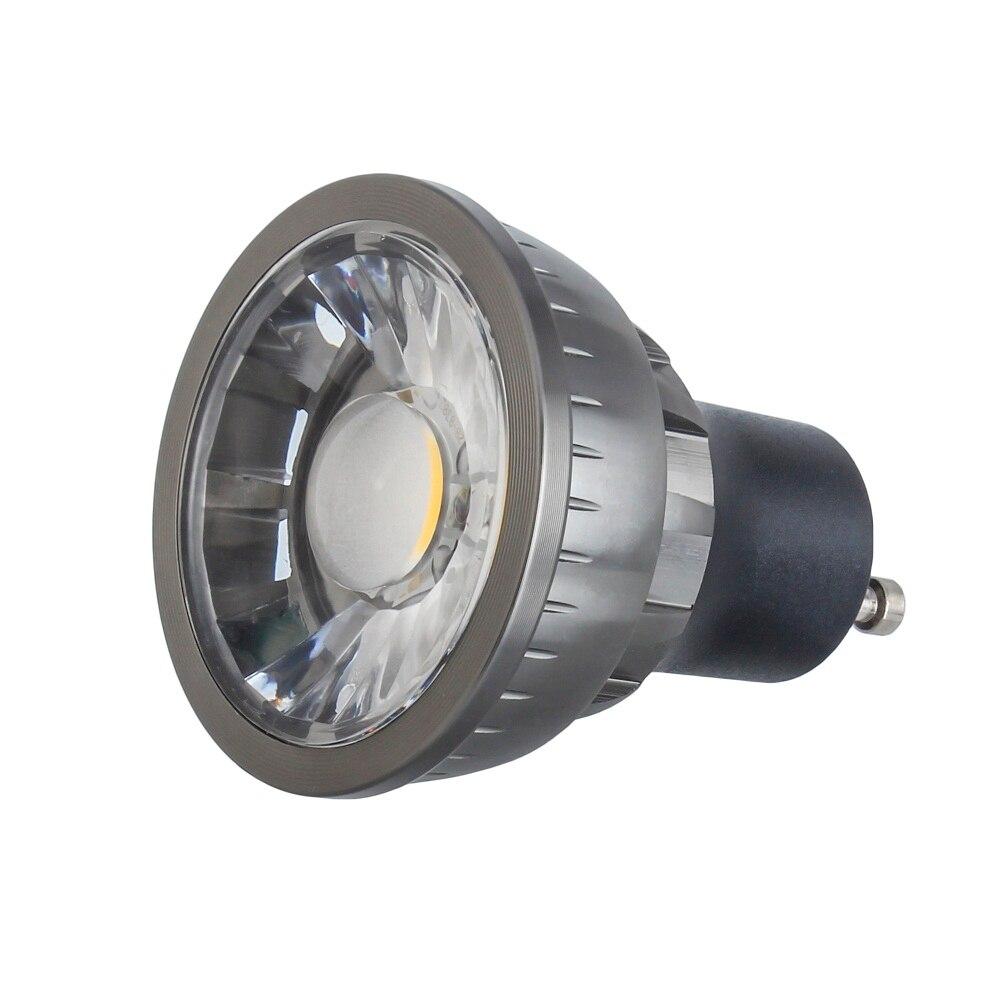 50pcs Dimmable E27 E14 GU10 MR16 LED COB Spotlight 5w 7w 9w Spot Light Bulb high power lamp AC /DC 12V or 85-265V