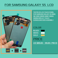 Tested S5 LCD Touch Panel For Samsung Galaxy S5 I9600 SM G900 G900R G900F G900H G900M