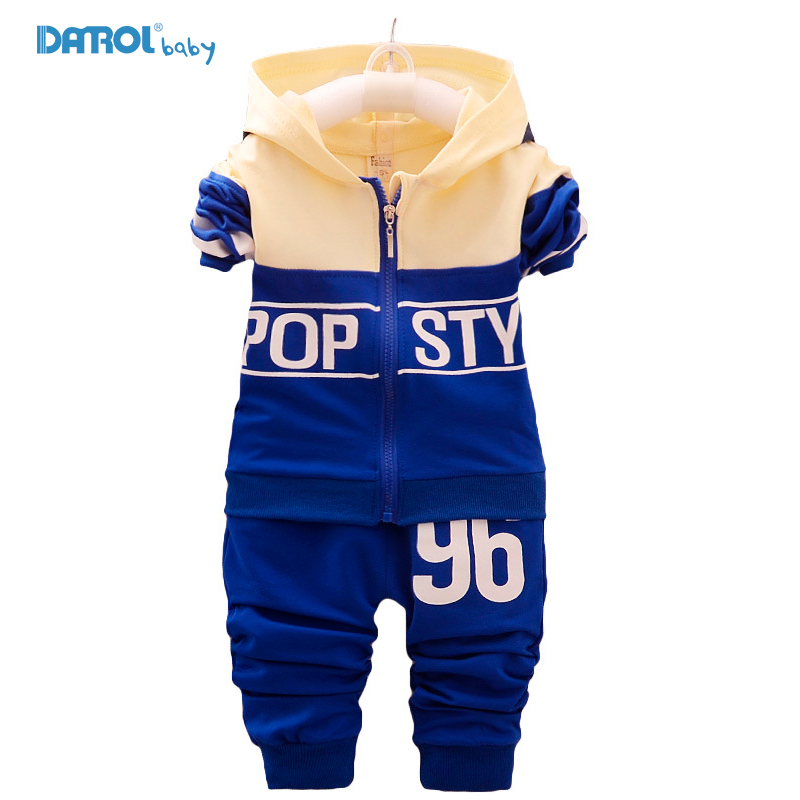 2 piece/set New Sport Suit For Boys Cotton Baby Boy Clothing Sets Hooded Kids Clothes Set Long suit boys Clothes Tracksuit TZ001 children t shirt shorts sport suit boys clothing set sports clothes for boys tracksuit kids sport suit a sports outfit for boy