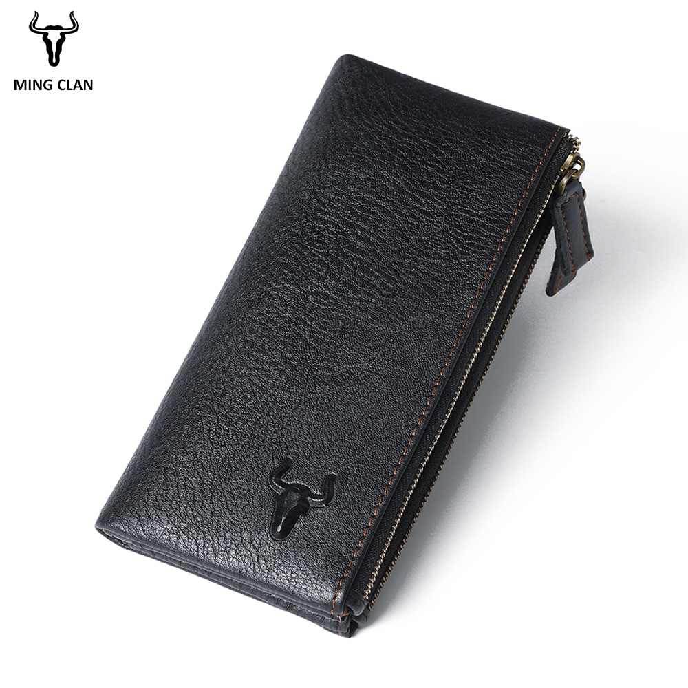 Women's Wallets Cowhide Leather Wallet Women Long leather Purse Fashion Ladies Purse Large Capacity Zipper Phone Wallet designer fashion women short wallet genuine leather 2 fold cowhide soft leather ladies wallets purse unisex high quality famous