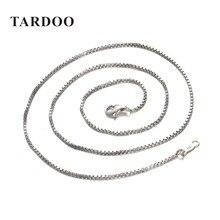 Tardoo Promoción Plata 925 Collares para Las Mujeres Al Por Mayor Estilo Simple Enlace Collares Marca de Joyería Fina Envío gratis