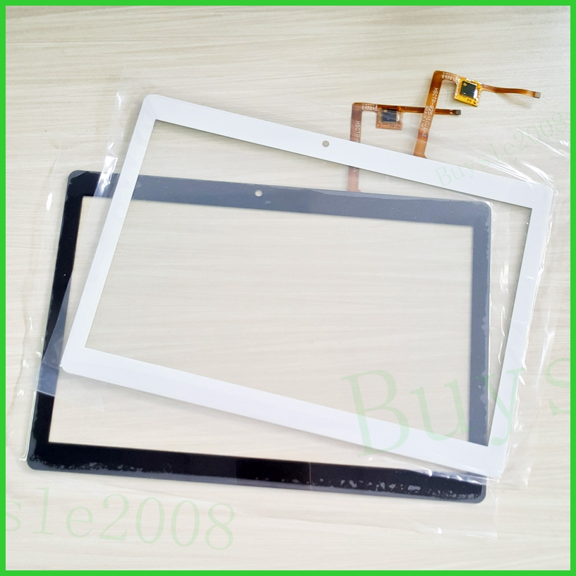 Black and white For irbis TZ191 TZ 191 Tablet Capacitive Touch Screen 10.1