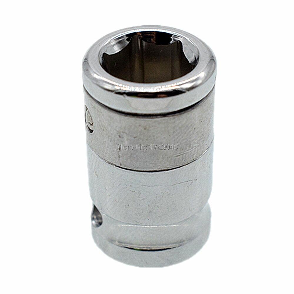 Adaptateur de douille à percussion à tige hexagonale de 3/8 pouces à 10mm, adaptateur de douille à Impact à dégagement rapide, support dembout de tournevis, adaptateur doutil de Conversion