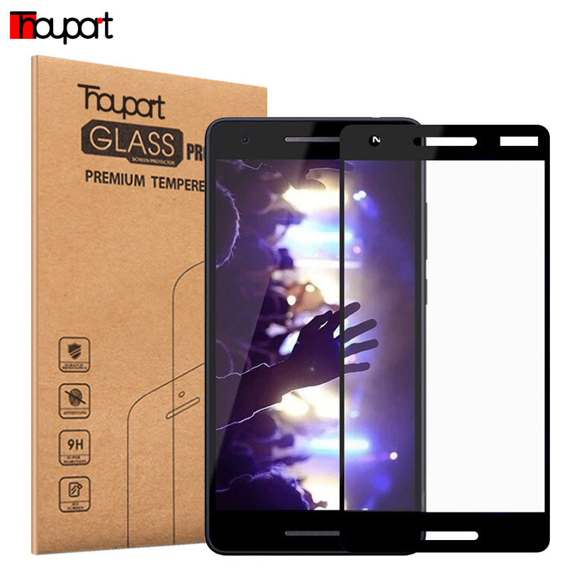 Full Glass For Nokia 2.1 Screen Protector Protective Film Tempered Glass For Nokia 2 Display Full Cover Glass Color Frame