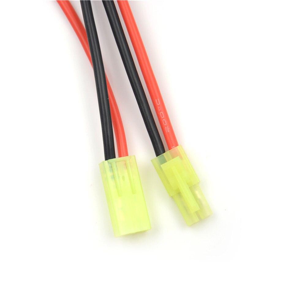 Лидер продаж Большой Tamiya мужской женский мини Tamiya Женский Мужской адаптер конвертер штекер 16AWG кабель провода высокое качество RC аксессуар