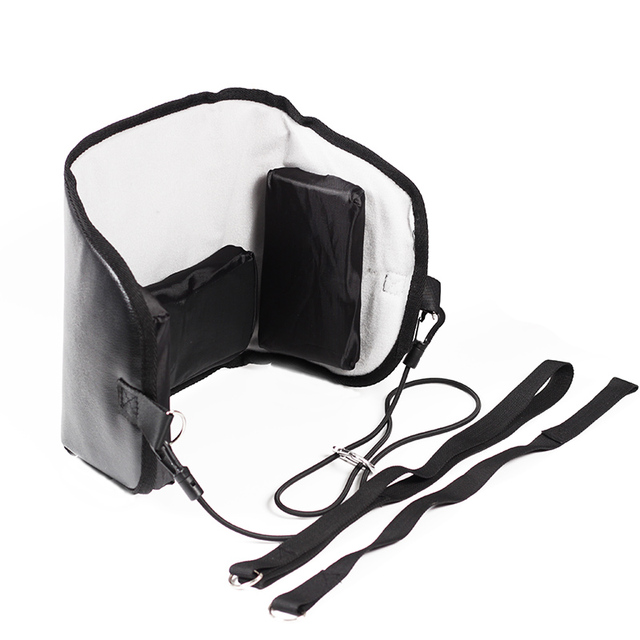 Cervical traction Neck Head Hammock leather Stretcher Pain Relief neck massager Relax cervical cushion neck traction device