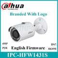 Dahua IPC HFW1431S 4MP Mini balle caméra WDR IR mise à niveau du micrologiciel anglais avec Logo remplacer IPC HFW1320S IPC HFW1320S W