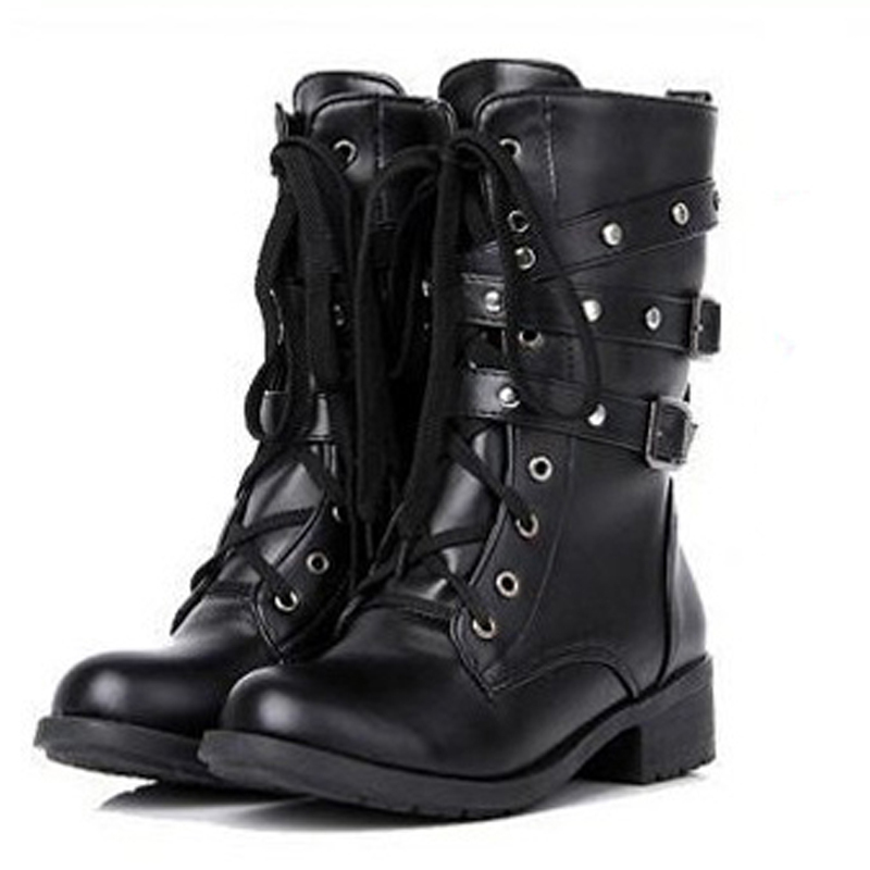 Awesome 2017 Cheap Volcom Black Combat Boots For Women  Go Figure 2 Online