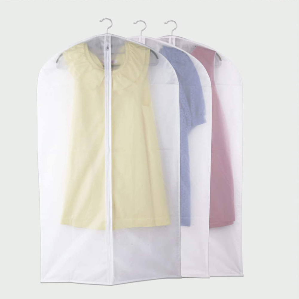 2018 Hot 1pc Large Size Dustproof Suit Cover Garment Dress Jacket Clothes Protector Travel Bag Whole In Storage Bags From Home Garden On