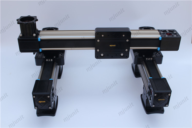 heavy load linear stage MJ60 linear guide 5M-25 toothed belt drive rail linear guide rail high precision laser guide actuator la31 toothed belt driven