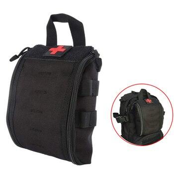 Bolsas de primeros auxilios, bolsa táctica IFAK Molle médica, bolsa militar de emergencia médica, bolsas EDC, juego de supervivencia para exteriores