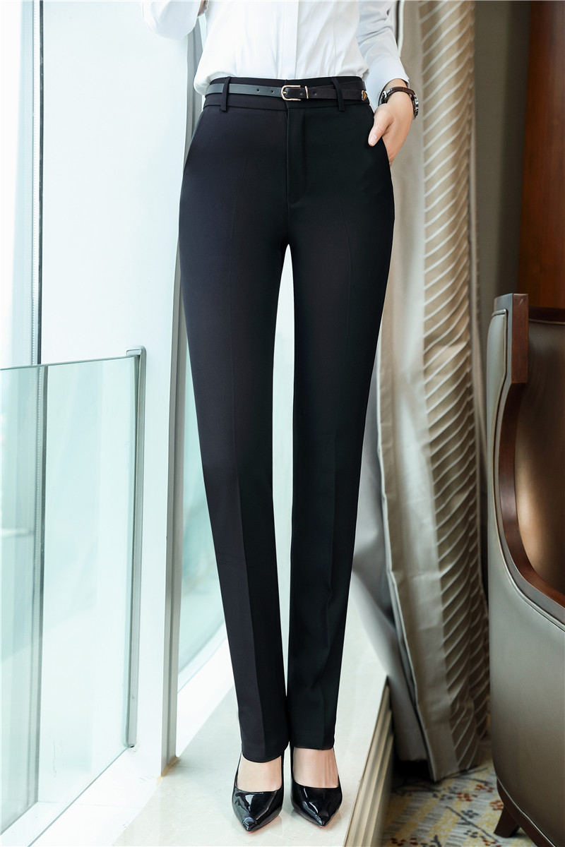 Fall Winter OL Styles   Pants   For Business Women Elegant Black Slim Trendy Skinny Leggings   Pants   Trousers   Capris   Free Shipping