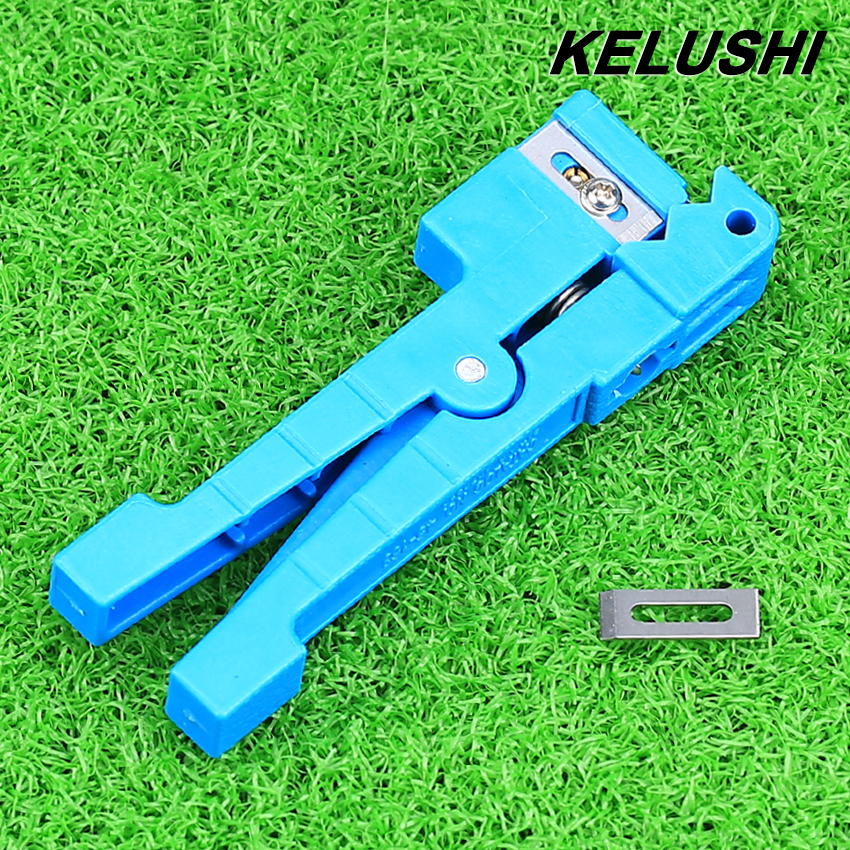 KELUSHI Optic Fiber Transverse Beam Loose Tube Stripping Knife RL45 163 for FTTH Free Shipping