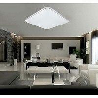 LED 18 w Flush Montad LEVOU Luz Moderno Acrílico Branco com Luz Ajustável Frete grátis