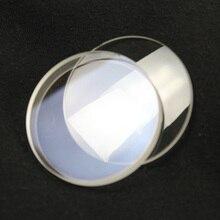 Un ensemble 60mm Dia verre optique focale 700mm double optique lentille convexe pour bricolage astronomique télescope objectif Guidscope