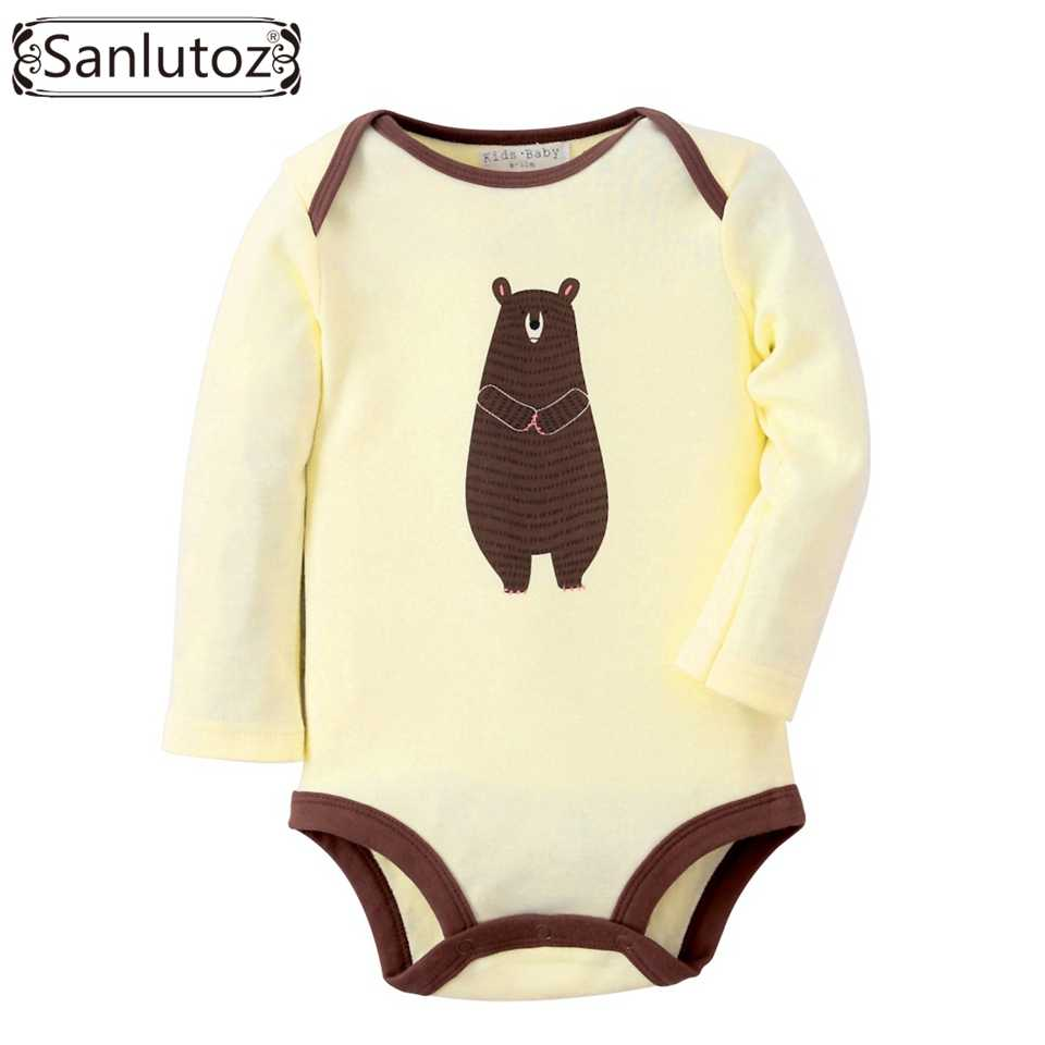 825dcc675ca9 Detail Feedback Questions about Sanlutoz Baby Rompers Winter Infant ...