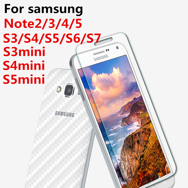 Top quality 9H 0.26mm Screen Protection Tempered <font><b>Glass</b></font> for <font><b>samsung</b></font> note2 <font><b>3</b></font> 4 5 8 galaxy S3 S4 S5 S6 S7 S3mini S4mini S5mini image