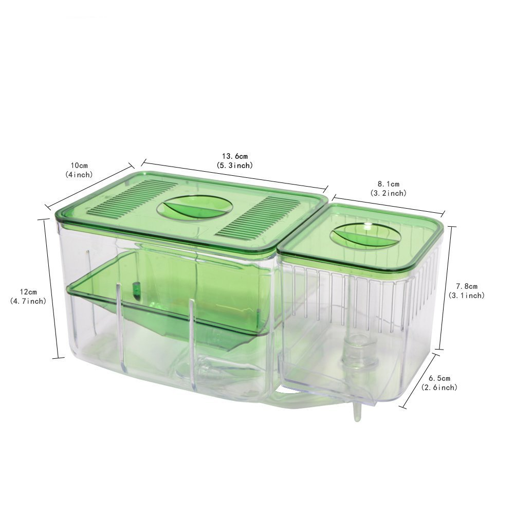 Saim Mini Akuarium Plastik Ikan Mangkuk Ikan Cupang Aksesoris Tank Untuk Aquarium Penyu Tank Dekorasi Aquario Pembiakan Kotak Leather Bag