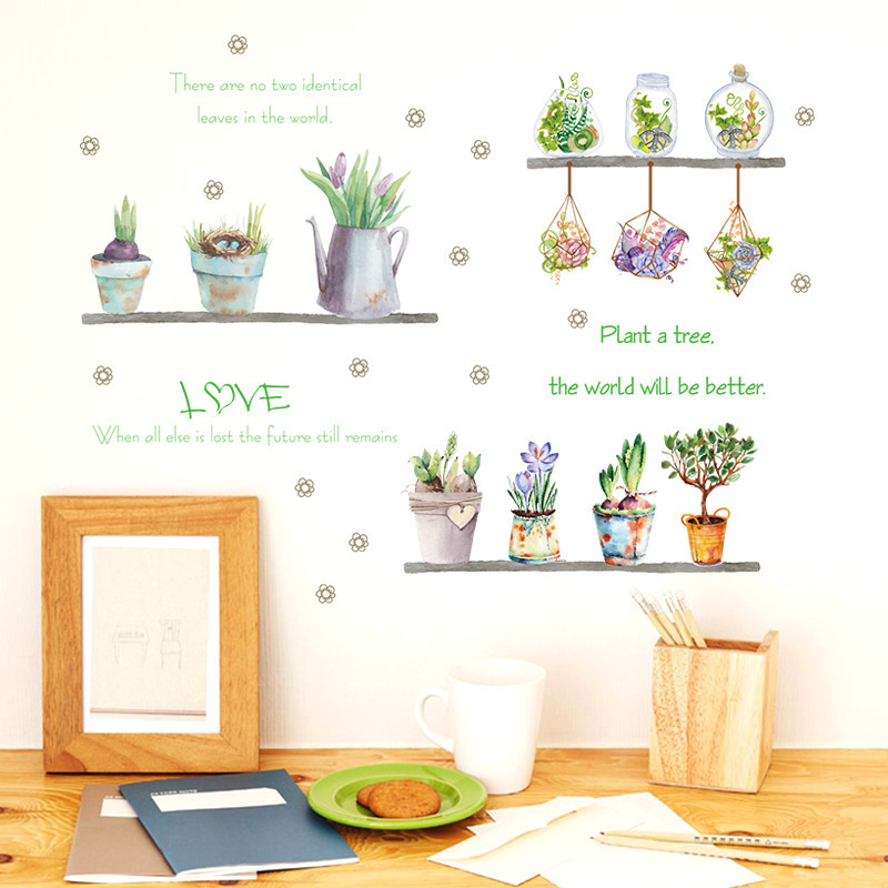 Glow In The Dark Decal Baby Wall Sticker Home Decor Flower Skirting Light Green